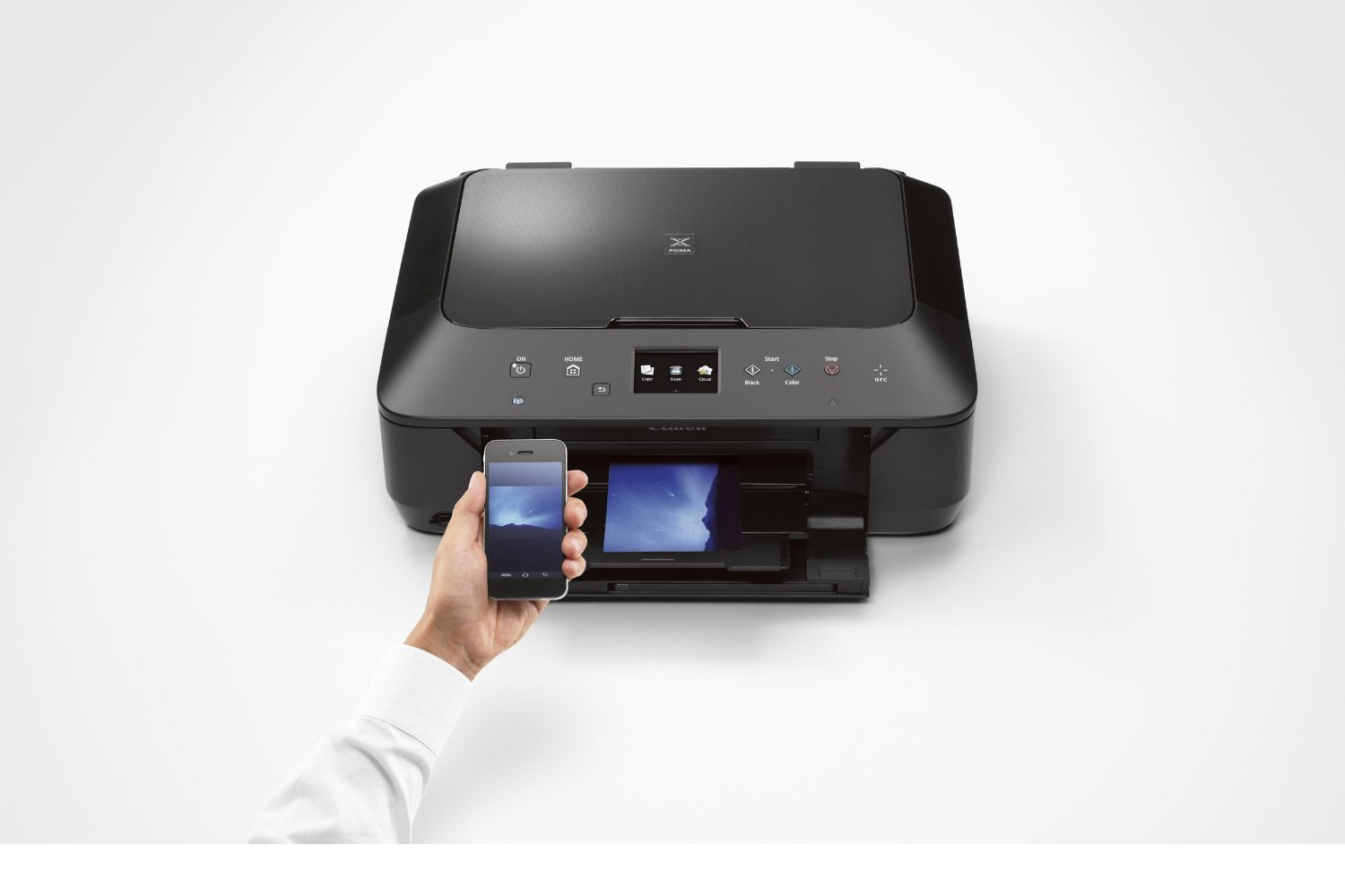 New canon pixma all in one wireless inkjet printer black for Canon printer templates