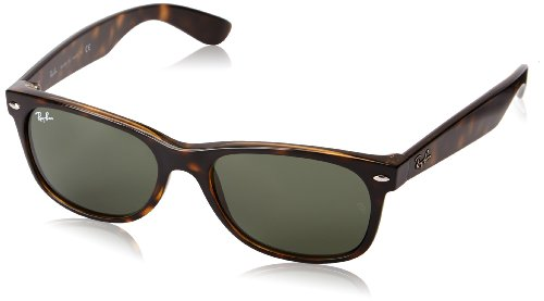 Image is loading Ray-Ban-RB2132-New-Wayfarer-Non-Polarized-Sunglasses-