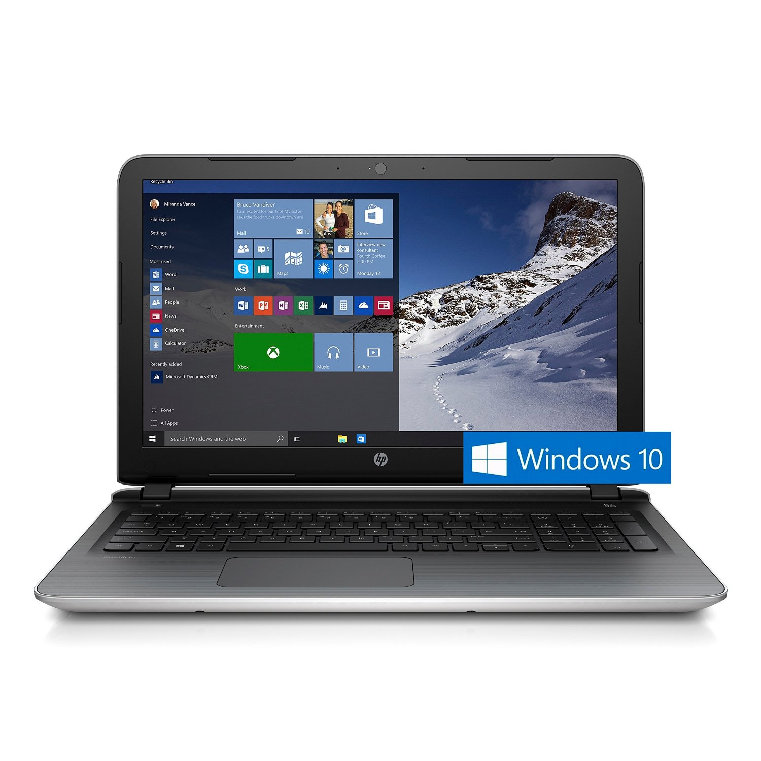 hp pavilion 17 3 laptop i3 ghz 8gb 1tb windows 10 17 g153us ebay. Black Bedroom Furniture Sets. Home Design Ideas