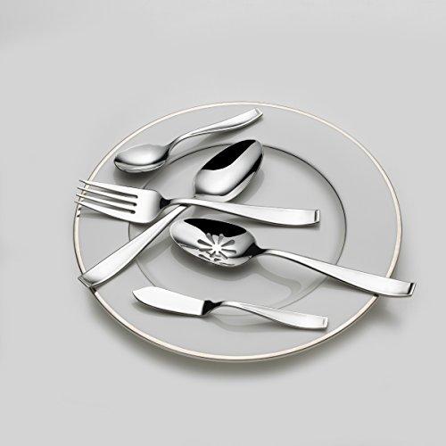 Mikasa Natasha 65 Piece Stainless Steel Flatware Set Ebay