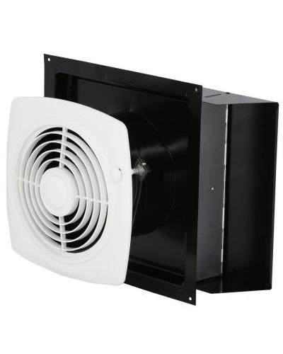 Through Wall Ventilation Fan : New broan cfm through the wall exhaust fan with on off