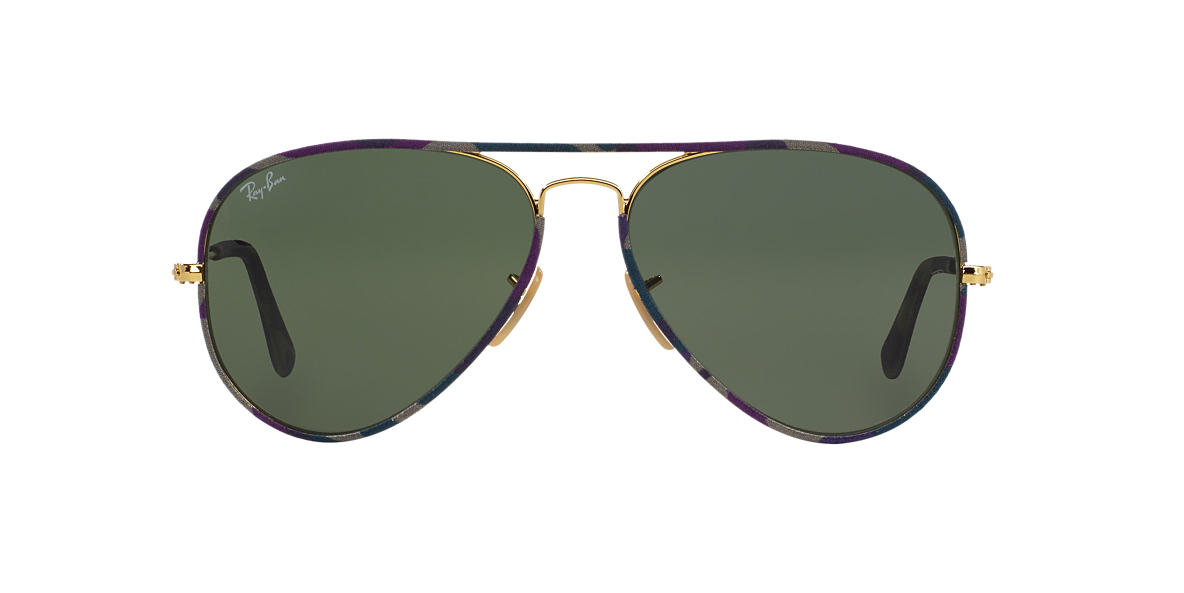 ray ban wayfarer aviator  NEW Ray Ban Unisex Wayfarer Aviator Sunglasses - Multicolor Frame ...
