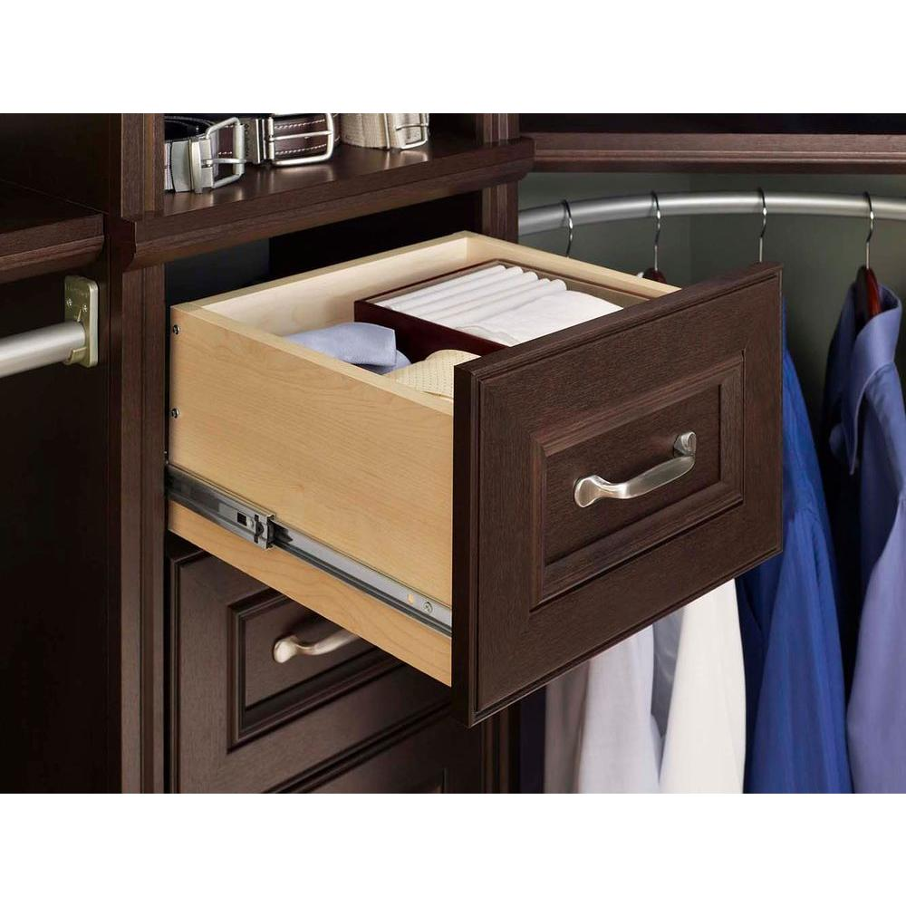 NEW ClosetMaid Impressions 16 In. Chocolate Narrow Drawer