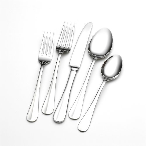 NEW-Towle-Living-Hartford-Stainless-Steel-Flatware-Set-101-Piece