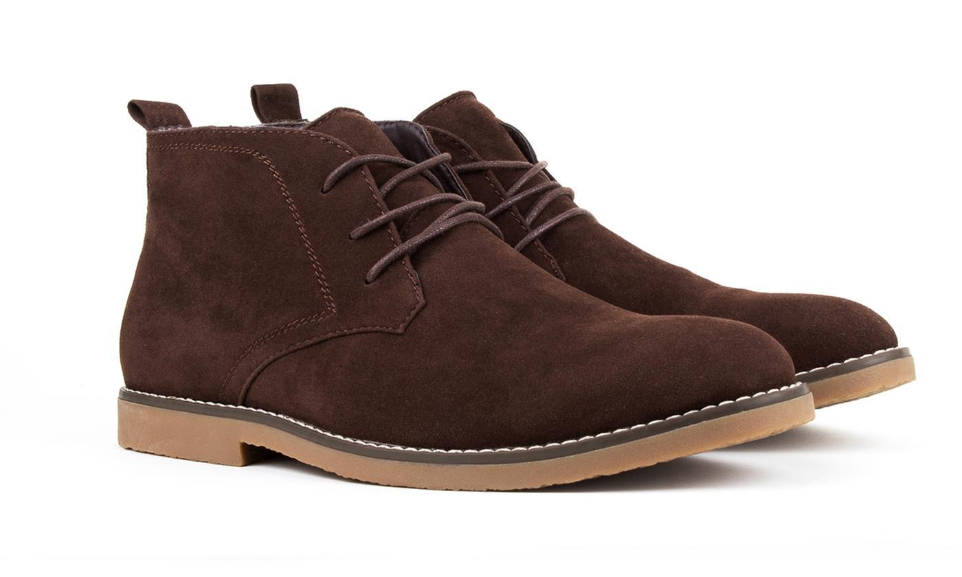 braveman s chukka desert boots brown size 8 ebay
