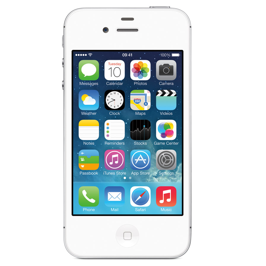 Apple iPhone 4 8GB No Contract for Sprint White