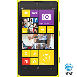 Nokia Lumia 1020 32GB No-Contract Smartphone for AT&T - Yellow