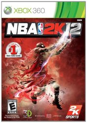 NBA 2K12 Video Game for XBOX 360