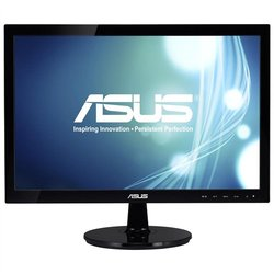 "Asus VS197D-P 18.5"" LED Backlit LCD Monitor - 1366 x 768 - 5ms - 16:9"