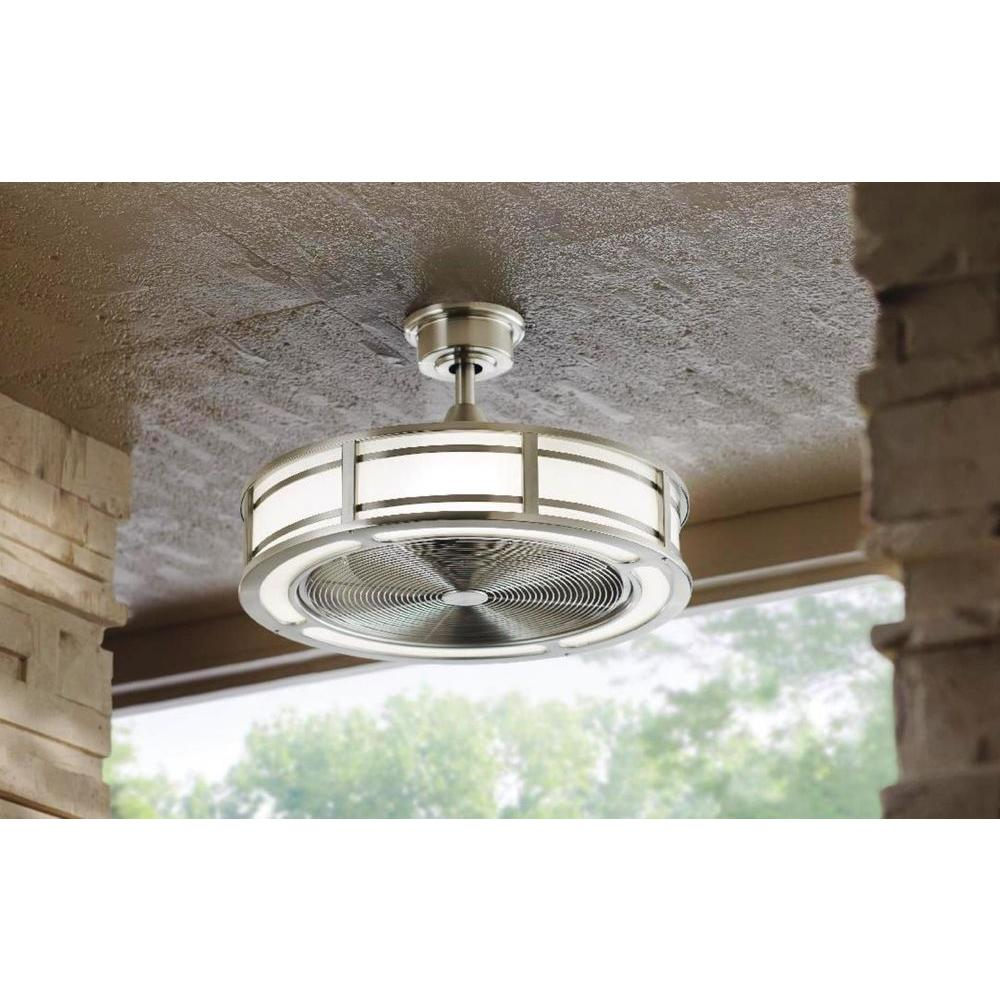 Home Decorators Collection Brette 23 In Led Ceiling Fan