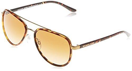 d61b7c748836 ... Michael Kors Women's Aviator Sunglasses - Tortoise/Brown ...