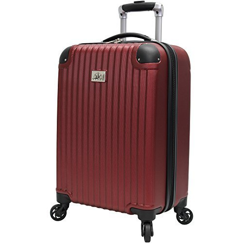 Verdi Hardside Spinner Carry On - Burgundy - 21""
