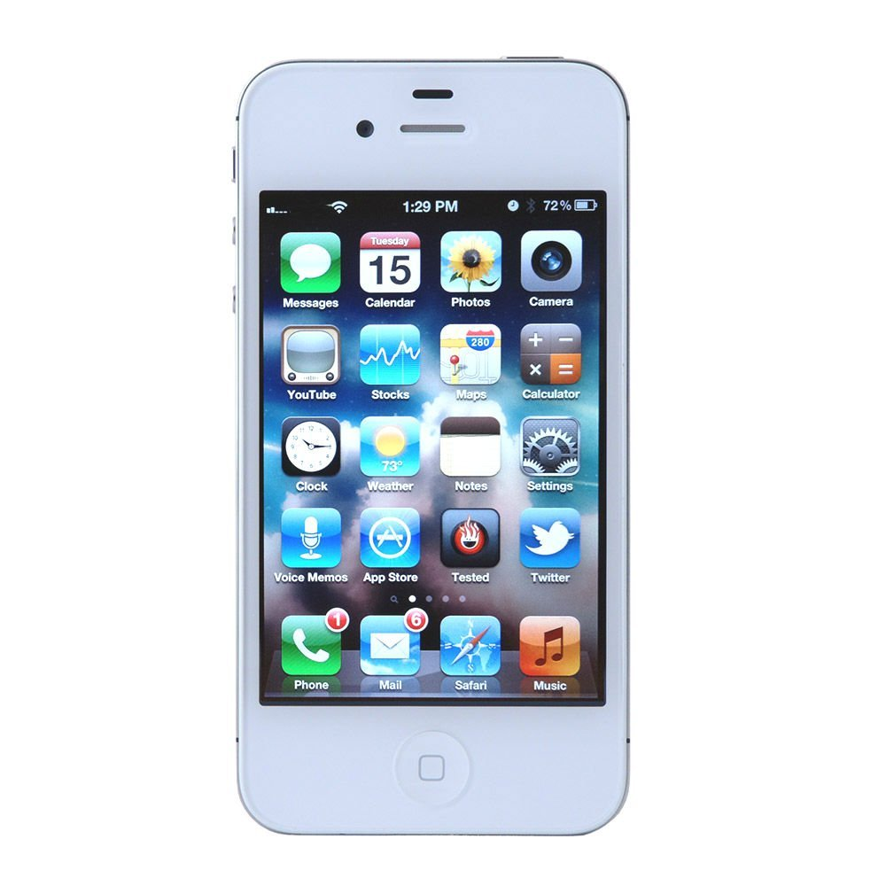 iphone 4s at t apple 3 5 quot iphone 4s 1ghz 8gb 3g for at amp t white mf258ll a 3026
