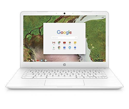 Details about HP Chromebook 14 Dual-Core 4GB 16GB Google Chrome OS - Snow  White