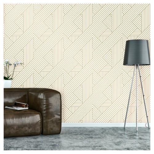 Details About New Devine Color Ribbon Peel And Stick Wallpaper Lightning And Karat