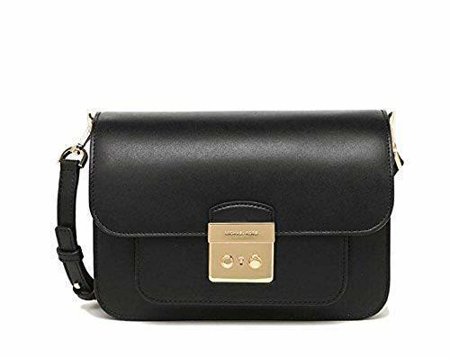 077f98315349b Michael Kors Women s Sloan Editor Shoulder Bag - Black - Size  Large ...