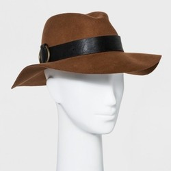 1948319dd4aa5 Women s Panama Hat - Universal Thread Brown ...