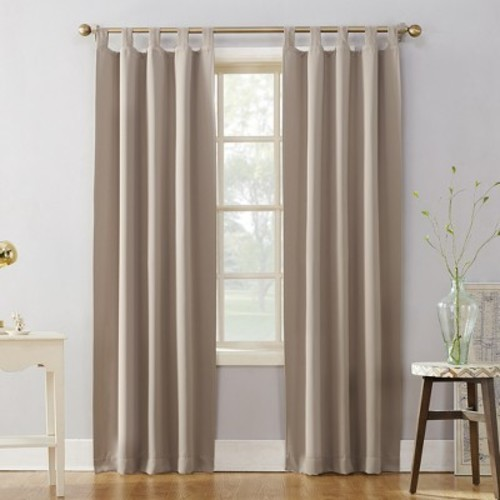 NEW Sun Zero Kenneth Blackout Tab-Top Curtain Panel