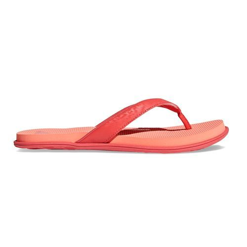 0bdd38c5c99 Adidas Women s Cloudfoam One Sport Thong Sandals - Coral - Size  11 ...