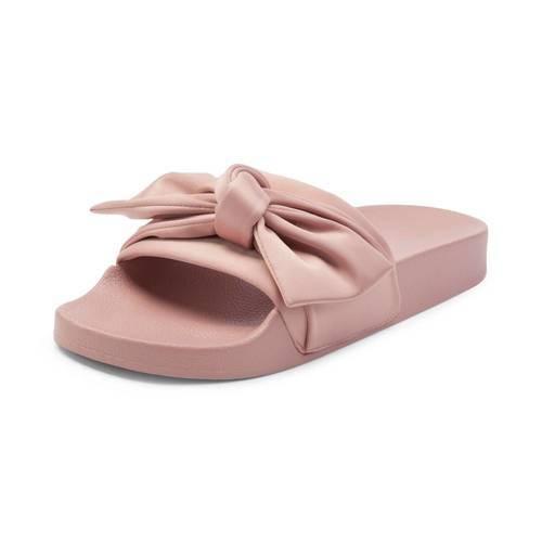 6c6821e10ca ... Steve Madden Women s Silky Pool Slide Sandals - Pink - Size  7