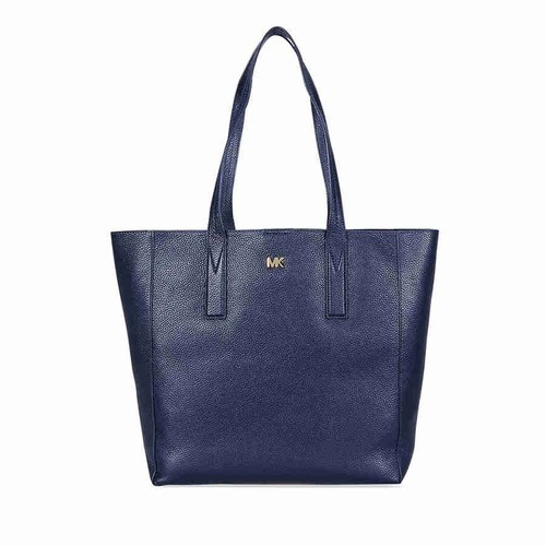 f7bb6dd876d3 NEW Michael Kors Women's Junie Leather Tote - Admiral - Size: Large ...