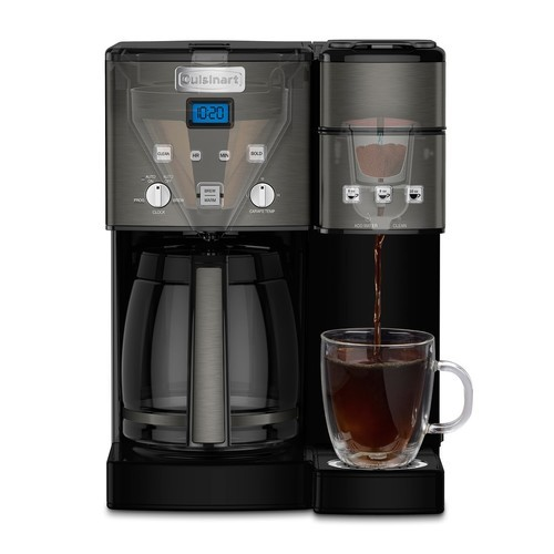 Cuisinart Combo 12 Cup and Single Serve Coffee Maker ...