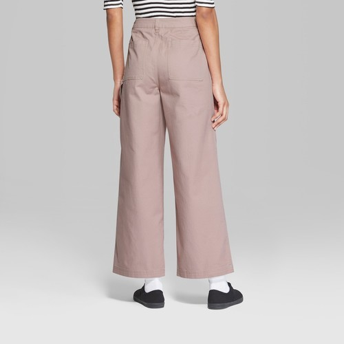 707119176a NEW Wild Fable Women's Wide Leg Pocket Pants - Pink - Size:16 ...