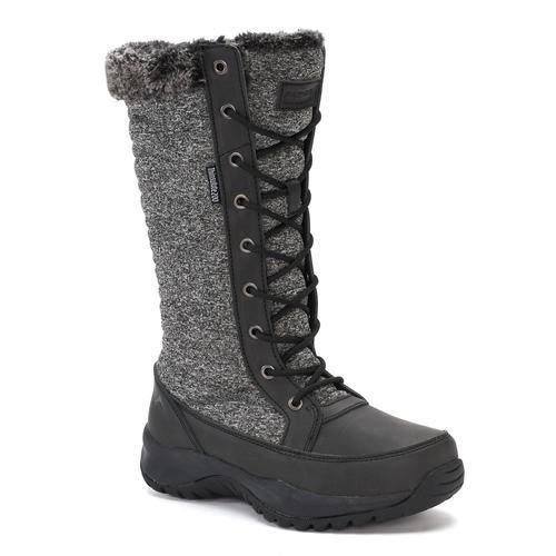 ee664b640dd ... Pacific Mountain Women s Elsa Winter Boots - Gray - Size  9.5 ...