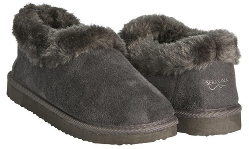 423248e2ba0f NEW Seranoma Women s Faux Fur Lining Ankle Boot - Gray - Size  8 ...