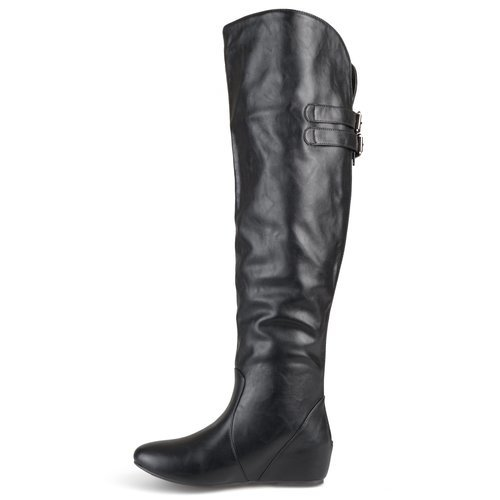 01a0eacc1ce Journee Collection Women s Angel Over-the-Knee Boot - Black - Size 9 ...