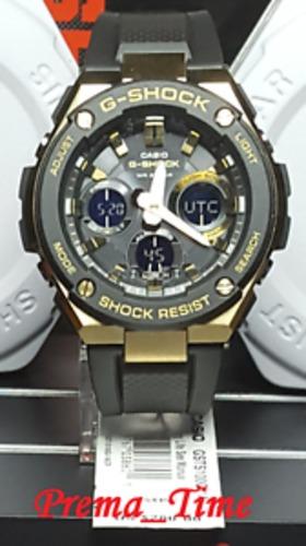 c71c13ab418d Details about Casio G-Shock G-Steel Solar Power Ana-Digi Watch - Metallic  Gold Black