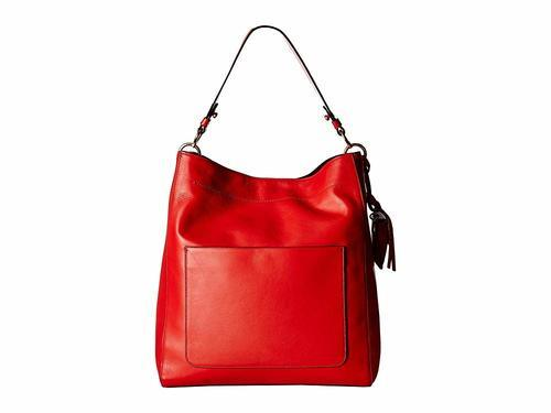 6c360624b6 NEW Cole Haan Women's Zoe Bucket Bag - Red 711372772807 | eBay