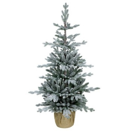 Balsam Christmas Trees.Details About New Wondershop 4 Unlit Artificial Christmas Tree Potted Flocked Balsam Fir