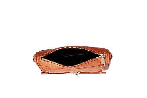 efab3d04fefe Rebecca Minkoff Women s Mini MAC Convertible Cross-Body Handbag - Almond