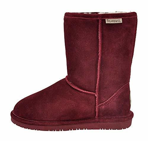 c664e571d655 NEW Bearpaw Women s Emma Short Snow Boots - Wine - Size 8 ...