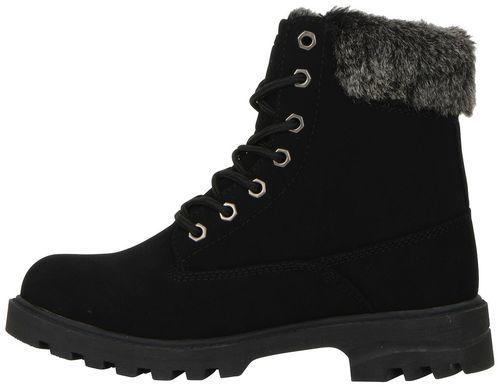 9a8babbf9b606 ... Lugz Women s 6   Empire Lace Ups Fleece Lined Boots - Black - Size