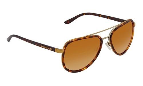 c5ebfc26c909 Michael Kors Women's Aviator Sunglasses - Tortoise/Brown   eBay