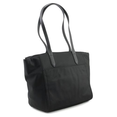db6828fb2225 ... Michael Kors Women's Kelsey Top Zip Tote Handbags - Black - Size:M ...