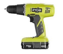 Ryobi 18 Volt ONE+ Lithium-Ion Cordless Drill Driver Kit (P1810)