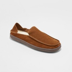 584ebb0257ae Men s Moccasin Slippers - Goodfellow   Co Tan 12