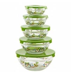 Imperial Home Glass Bowl Set