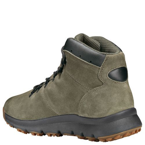 60cd8624499 Details about Timberland Men's World Hiker Mid Boots - Dark Green - Size:11