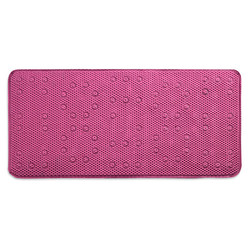 Popular Bath Cushioned Waffle Non Slip Memory Foam Bathtub - Mat Pink