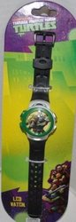 MZ Berger Boy's Mutant Ninja Turtles TMNT Digital LCD  Watch - Black