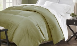Hotel Grand Down Alternative Comforter Sage Light Green