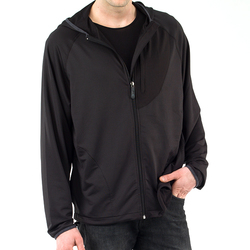Head Men's Cross Trainer Full Zip Hoodie - Black - Size: S