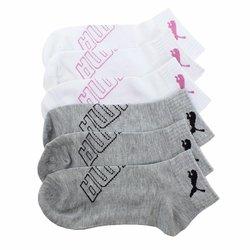 Puma 12 pack Women's Non Terry Quarter Socks - Size:4-10