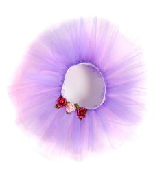 Great Pretenders Girls Tulle Tutu Ballerina Skirt - Purple - Medium/Large