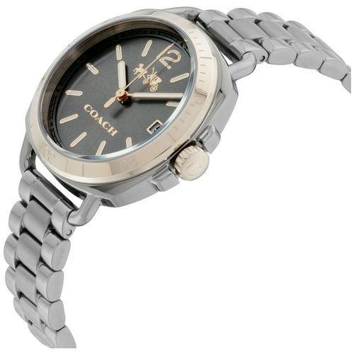 Coach Women's 34mm Tatum Stainless Steel Watch - Gray ...
