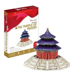 Ezhishop Chinese The temple of heaven DIY 3D Puzzle Model Toy-115 pieces